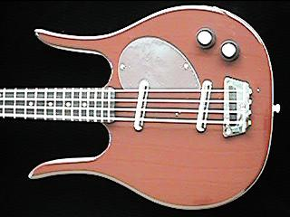 pic of Dan Electro Bass guitar