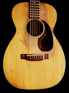 pic of Martin O-18 guitar