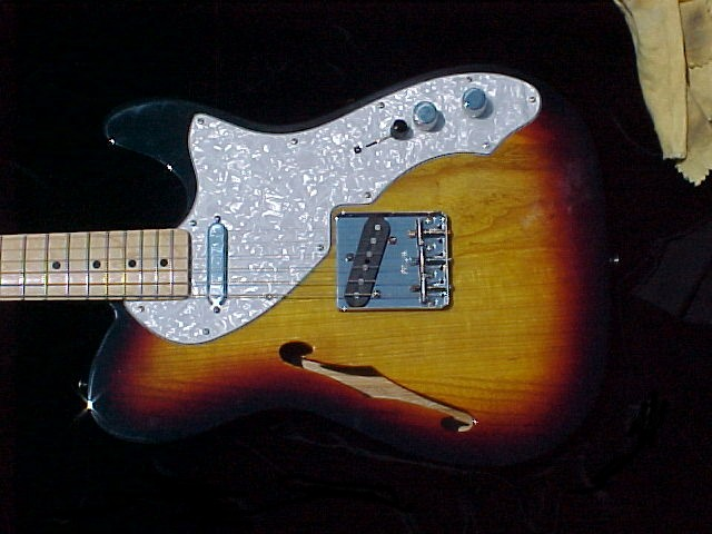 pic of Fender Telecaster guitar